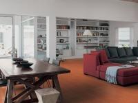 Pavimento in cotto soggiorno