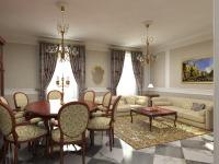 Pavimenti in marmo soggiorno