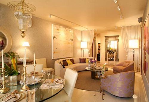 Illuminazione soggiorno classico country moderno etnico for Ver decoraciones de casas