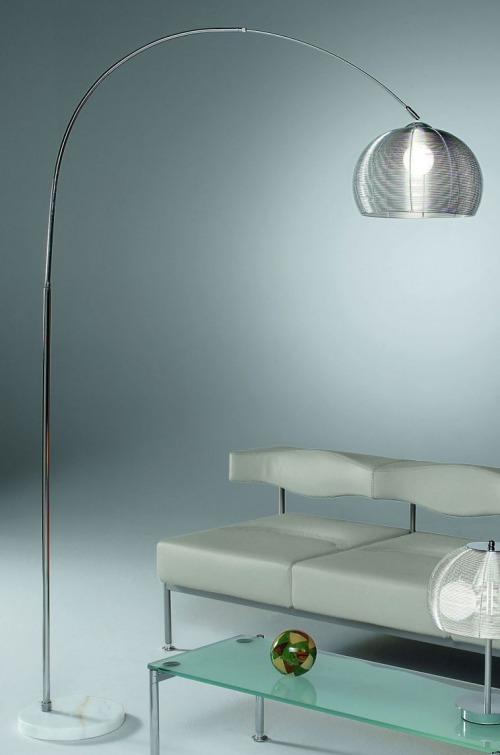 Lampade da terra soggiorno sottili o ampie moderno o classiche ad arco design - Lampada per soggiorno ...