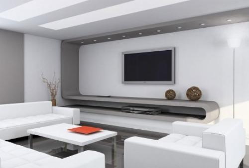 Soggiorno moderno freddezza minimalismo essenzialit design for Minimalismo moderno