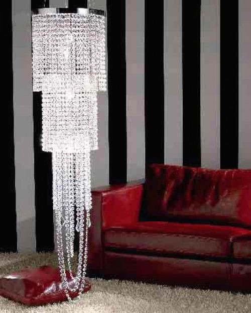 lampade cristallo soggiorno  eleganza, raffinatezza, brillantezza -> Lampadario Cristallo Eleganti