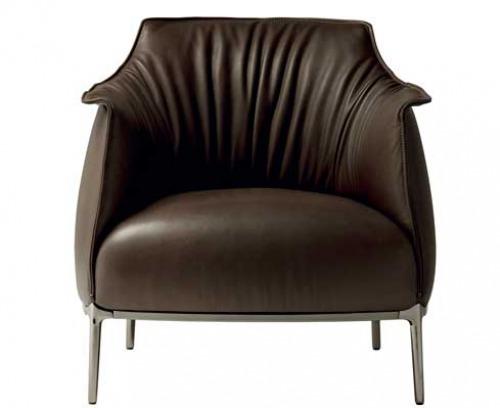 Poltrone in pelle classiche moderne eleganti