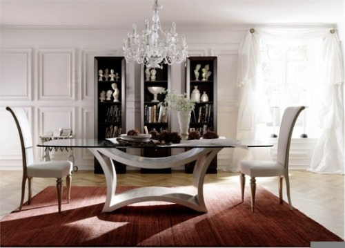 tavoli in cristallo soggiorno: eleganti, raffinati, sobri